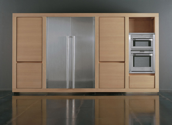 100 percent Solid Wood Kitchen which block chestnut wood definitely and takes centre stage
