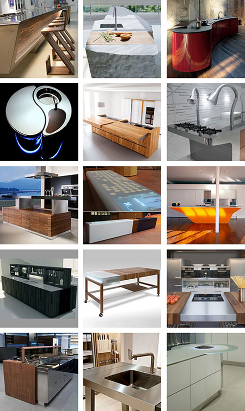 15 Kitchen the most unusual Kitchen Islands most innovative kitchen designs