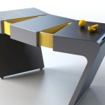 Accordion Flexible kitchen table by Olga Kalugin is very innovative product