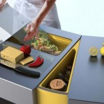 Accordion Flexible kitchen table by Olga Kalugin is very innovative products