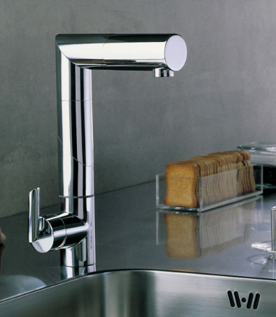 Adjustable Kitchens Faucet minimalist and moderns look by Nobili