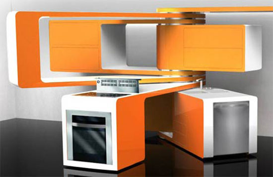 Amazing movable kitchens design picture ultra modern kitchen Marcello Zuffos
