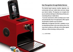 Android espresso machine work with QR code is amazing