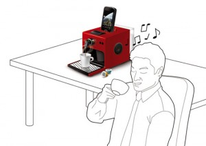 Androids espresso machine works with QR code is amazing