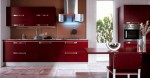 Bamboo Kitchen with minimalist chic at forefront and convenient kitchen island