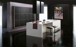 Black matte and white Kitchens Design picture by Gabanes