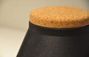Ceramic Container store Jar keep our spices in glossy yellows