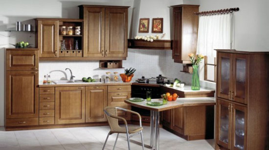 Classic Kitchen Design warmth and comfort of natural wood from Gorenje