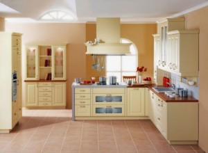 Classic Kitchens Design warmth and comfort of natural wood from Gorenje