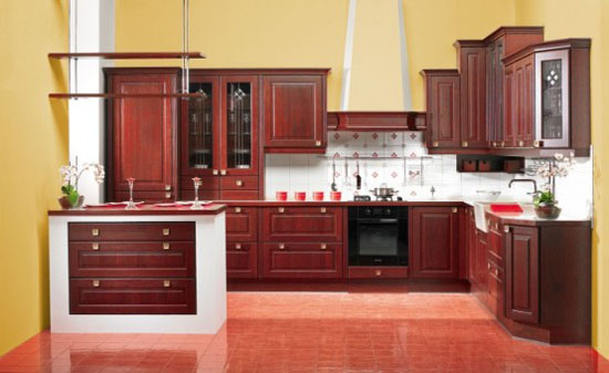 Classic Kitchens Design warmth and comfort of naturals wood from Gorenje