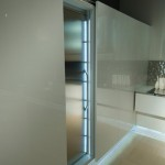 Contemporary Kitchen stainless steel backdrop Aster Cucine new Ulivo give green atmosphere