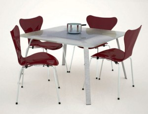Cooking table design in small and simple design with great function