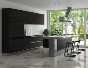 Cool Minimalist Kitchen In straight lines From Toyo