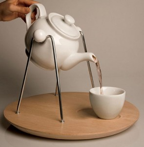 Cool Teapot Frame make easy cup positioning