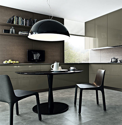Cool and naturally contemporary minimal horizontal thicknesses and maximum wide