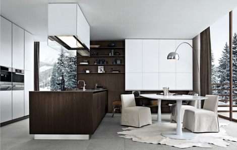 Cool and naturally contemporary minimal horizontal thicknesses and maximum wideness