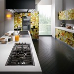 Crystal Kitchen giving depth and dynamism from Karim Rashid