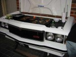 Custom Barbeque Grill outdoor from classic Holden Monaro GTS burgers and steaks