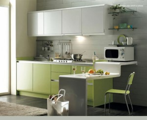 Designing a small kitchen in creative ways