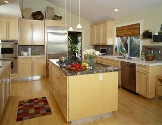 Designing a smalls kitchen in creative ways