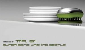 Dishwashing beetle with nanotechnology eliminate contamination of water