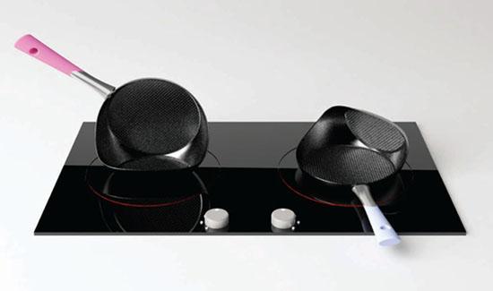 Double faced pan modern technology by Seung Jun Jeong