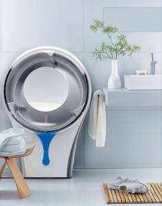 DryMate clothes dryer drying clothes in lowers temperature by Nico Klaber
