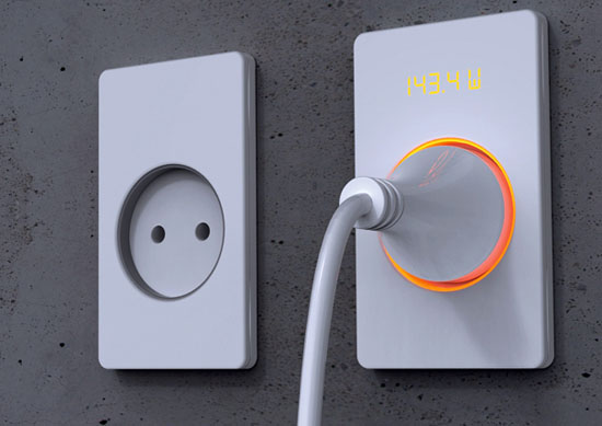 Eco friendly Plug is saving energy by Insic Wall Socket