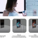 Eco friendly Plug is saving energy by Insic Walls Socket