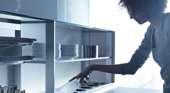 Ergonomic Kitchen features nano coated surfaces scratch resistant