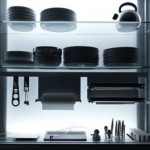 Ergonomic Kitchen features nano-coated surfaces scratch resistant