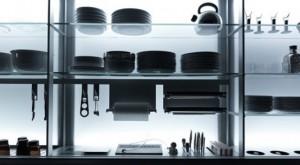 Ergonomic Kitchen features nano-coated surfaces scratch resistant