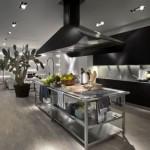 Excellent stainless steel kitchen combine wooden materials