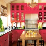 Exotic Asian Kitchen with various models of kitchen cabinets