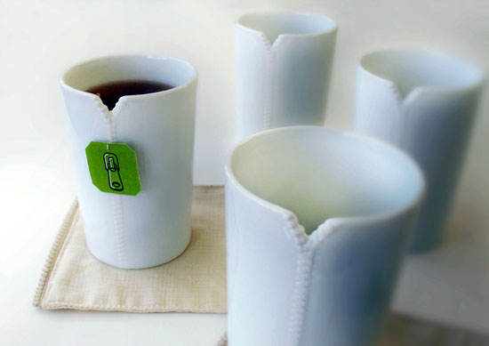 Exotic Zippers cup model for your choco drinking to have creepy magnitude