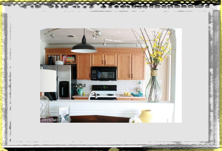 Final Kitchen Makeover Reveal8 kitchen ideas oak