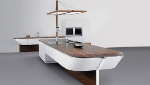 Future kitchen island boat