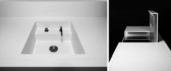 Futuristic minimalist kitchen Designs by Eggersmann