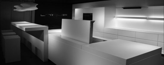 Futuristic minimalist kitchens Design by Eggersman