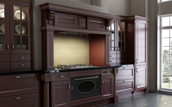 Giulia Novars Russian kitchen company classic furniture English style