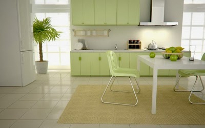 Green kitchen designs signal of wealth prosperity and growth for you who love bright colors