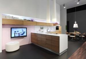 Handleless Kitchen Design made of natural wood Vao kichen by Team7