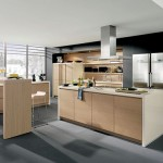 Handleless Kitchen completed with gorgeous high-end cabinets from Alno new Starline kitchen