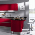 High specification molded cupboards with sharp futuristic edge and radiate comfortables retrospective appeal