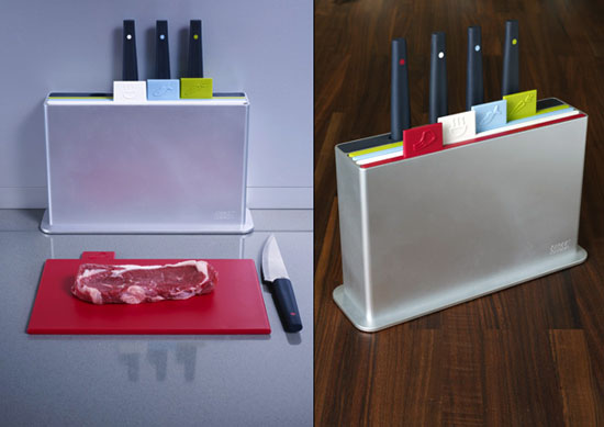 Index Chopping Board help you to cleave organizeds from Joseph Joesph