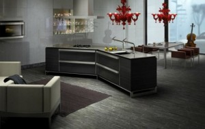 Japanese Dark Metallic Kitchen Style Innovations