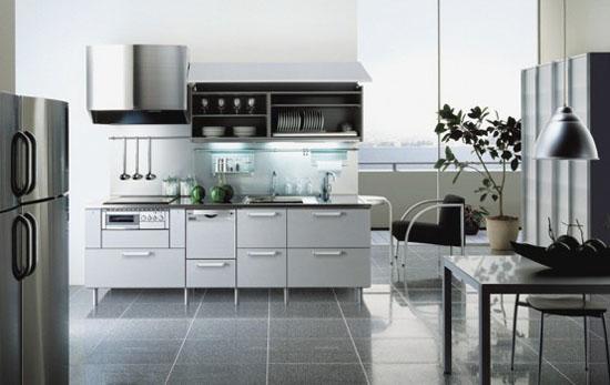 Japanese Tayo kitchens designs metal kitchen were impressive