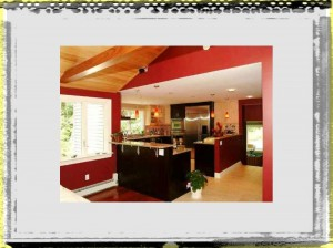 Kitchen Cabinet Red Color Decorating Ideas kitchen ideas colors