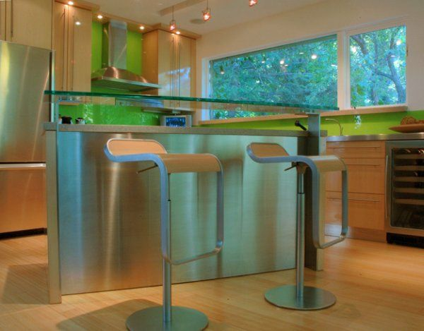 Kitchen Design Idea From Binns comes with fresh color and warm place