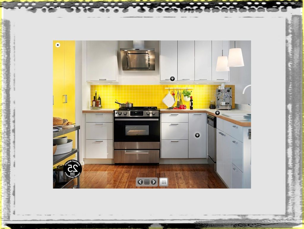 Kitchen Inspirational Yellow Kitchen Design Ideas From Ikea kitchen design ideas at ikea